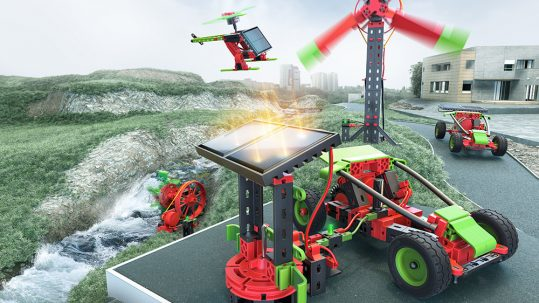 green energy fischertechnick lenobotics robotica educativa